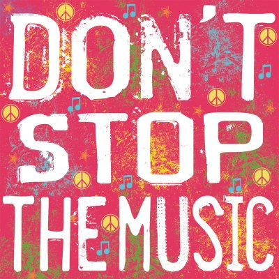 stop music