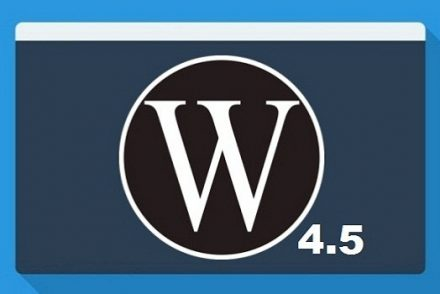 wordpress4.5