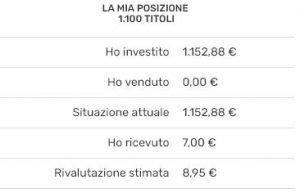 investimento con rendimenti